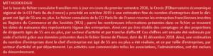 cession entreprise ile de france, chiffres cession entreprise, statistique cession entreprise 2019