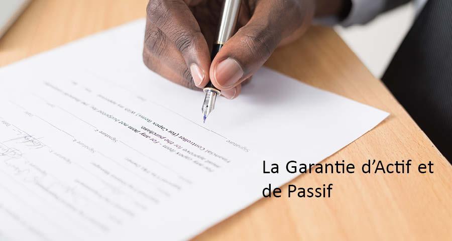 garantie d'actif passif cession entreprise